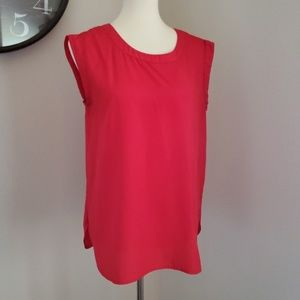 J.Crew Red Blouse